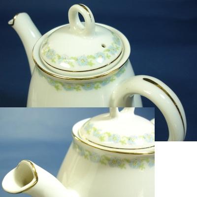 画像3: 戦前オールドノリタケ 小さなティーポットとお皿 ヤジロベー印